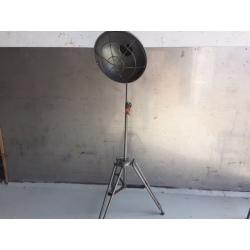 Lamp tripot steel, H160/230cm