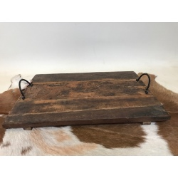 Old wooden tray 55x40cm