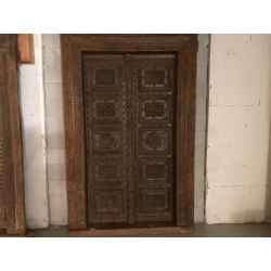 Old antique door (gate) from India