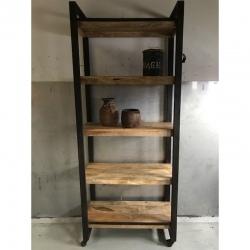 Bookshelve 5-L 85x40H205cm
