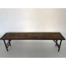 Folding bench 150x35H45cm