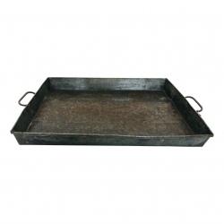 Iron square tray 54x39H7cm(7737)
