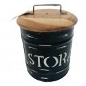 Storagebox wood, medium
