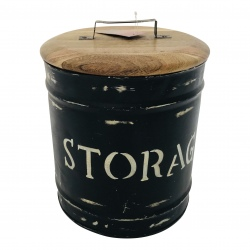 Storagebox wood, large