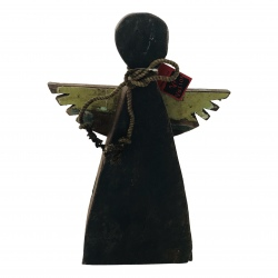 Wooden angel big 28x42cm (5541)