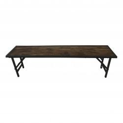 Folding bench 170x35H45cm