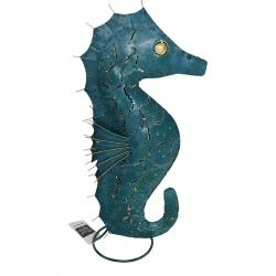 Seahorse iron blue 50cm.