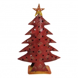Christmastree red H40