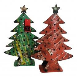 Christmas tree old iron H40cm