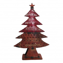 Christmas tree old iron H66cm