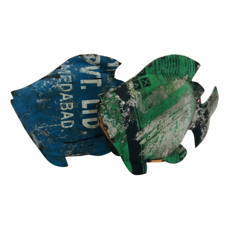 Fish old iron 35x28cm.