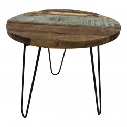 Iron table/stool 55x55H50cm