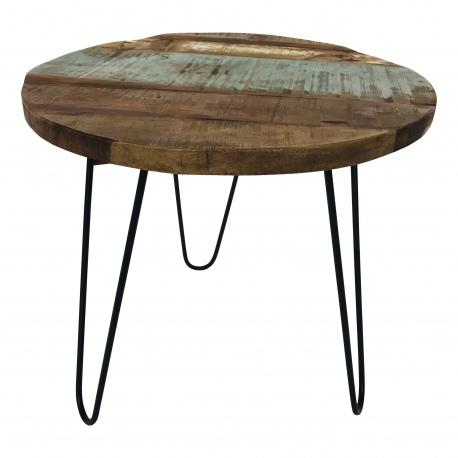 Iron table/stool 55x55H50cm