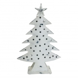 Xmas tree antique white H40cm