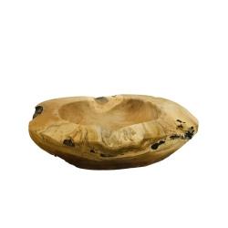 Bowl teak D40cm