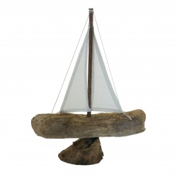 Boat driftwood sail