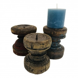 Antique candle stand