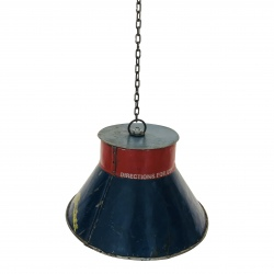 Old iron lampshade D26cm