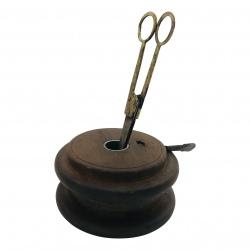 Scissor/candlestand D12cm (5342)