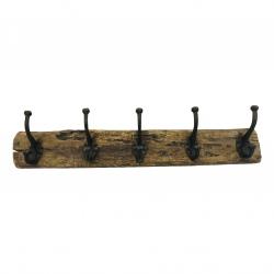 5-hook Railway wood(5485)
