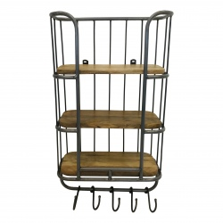 Wallshelve 40x70x20cm steel colour