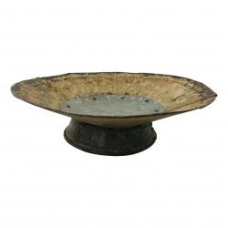 Iron cake stand D30H9cm(5716)