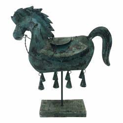 Iron blue horse(5747)