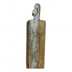 Cuttingboard recycl. wood 54x16cm