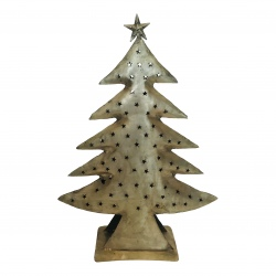 Xmas tree antique gold H65cm