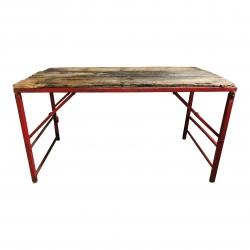 Folding table 152x76H76cm