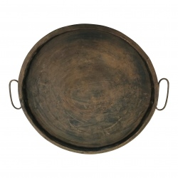 Iron tray round D29cm(5974)