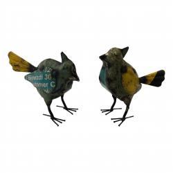 Bird old iron 15x12cm