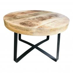 Coffee table raw mango S (5845)
