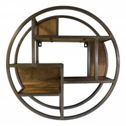 Round wallshelve D60 steel (3065)
