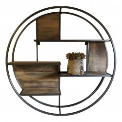 Round wallshelve D100 steel(3068)