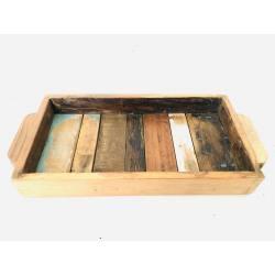 Tray colour wood 20x33H5(3097)