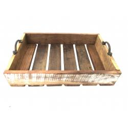 Wooden tray 27x39x3cm