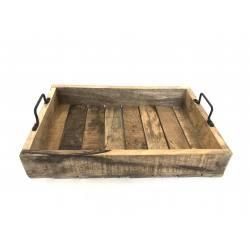 Tray mangohout 45x30cm(5796)