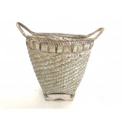 Bamboo basket M (3286)