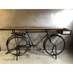 Retro bicycle table 198x51H90 (3335)