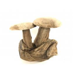 Mushroom double teak(3122)