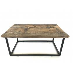 Coffee table iron frame 87x50H40cm(5560)