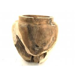 Vase teak (3142)