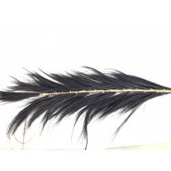 Bulu pluim 140cm black(3459)