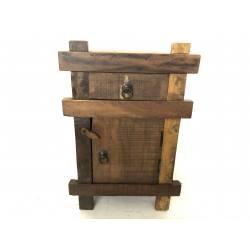Bedside gerecycled wood