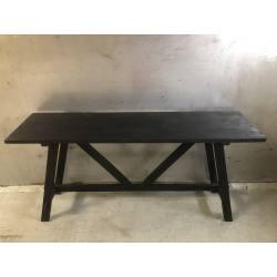 Sidetable black 150cm (3549)